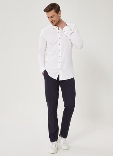 Beymen Business Slim Fit Pantolon 4B0120100032 Lacivert